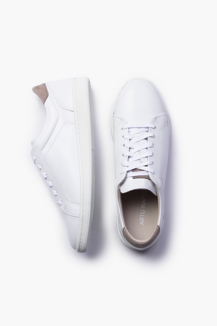 Sneaker white / colour