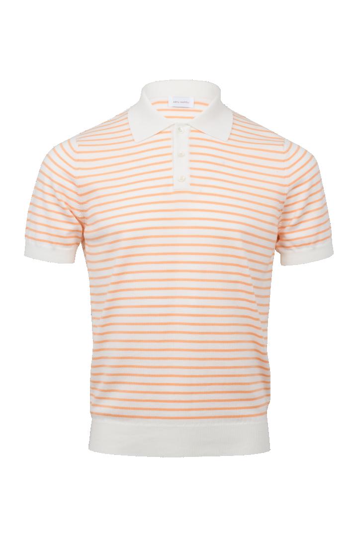 Polo V short sleeve stripe