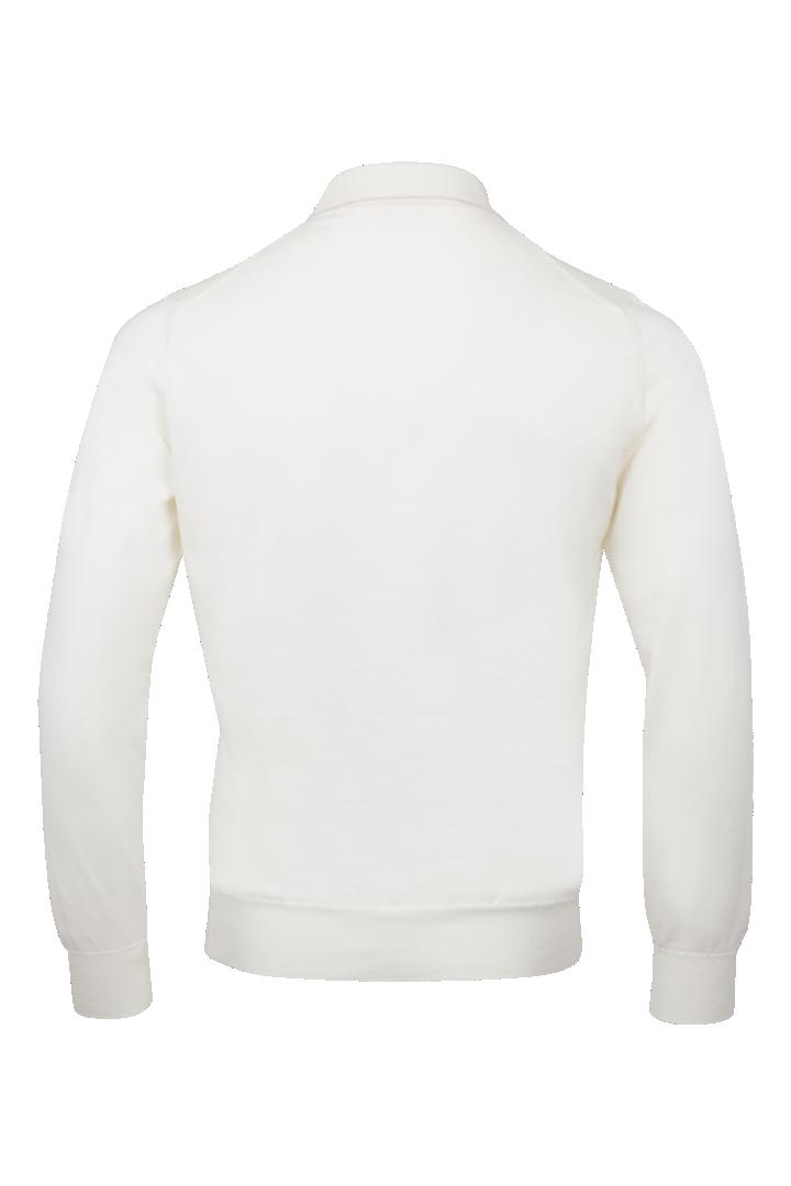 Polo long sleeve zip