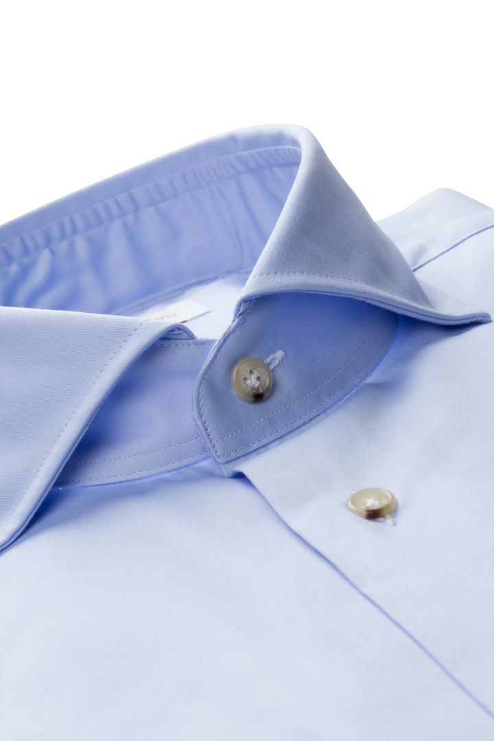 Soft Cut Away Beige Button